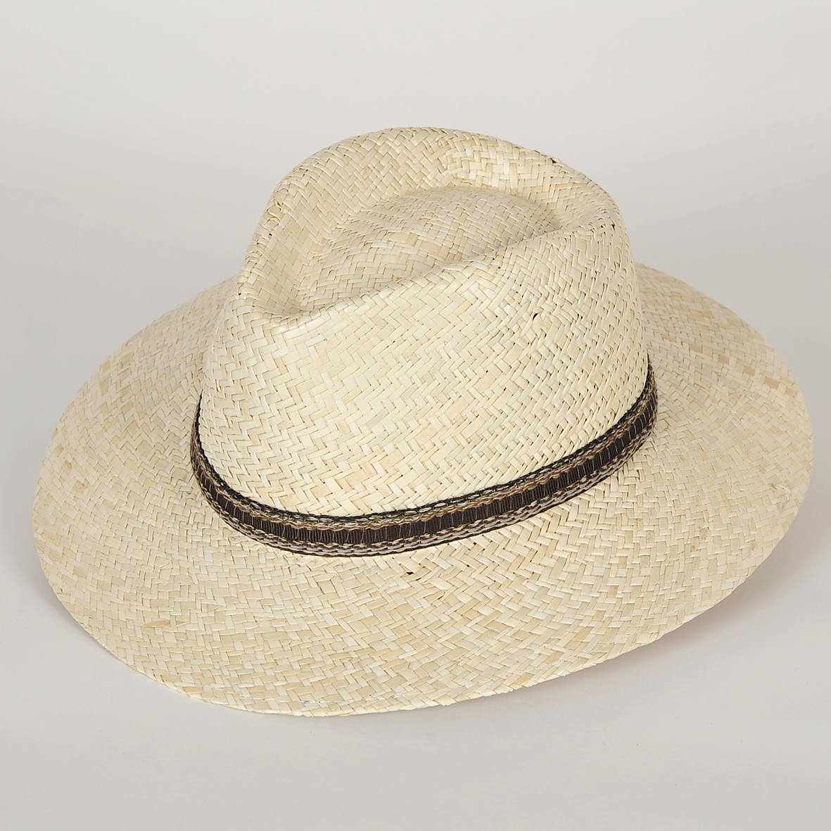 chapeau fedora en paille homme enzo sepang blanchi l. Black Bedroom Furniture Sets. Home Design Ideas