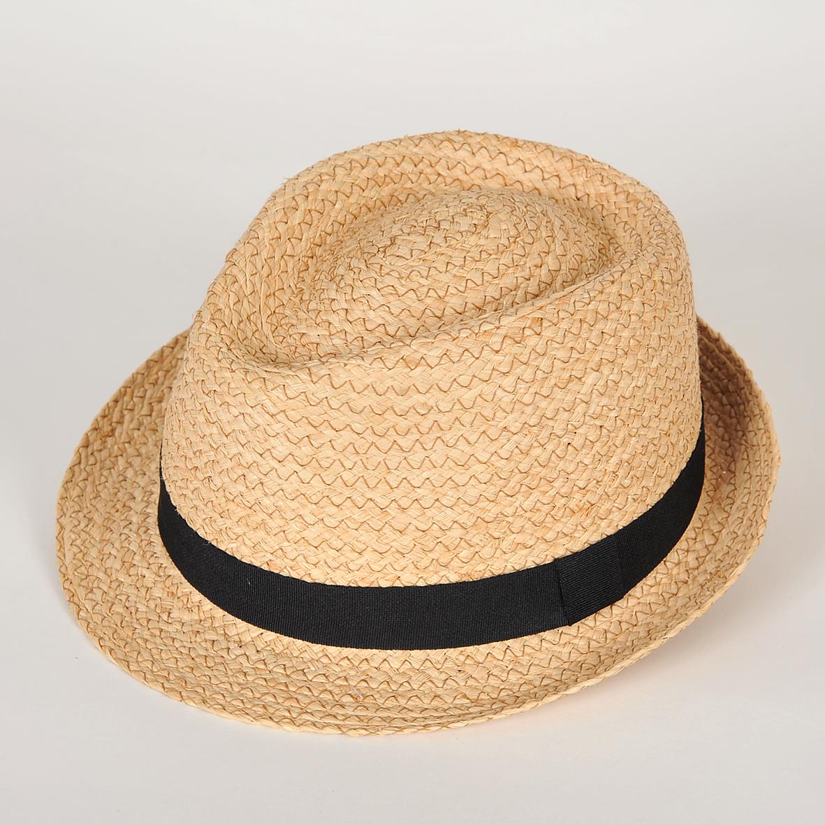 chapeau paille trilby homme carisio raphia fantaisie l 39 artisanat de sabrina. Black Bedroom Furniture Sets. Home Design Ideas