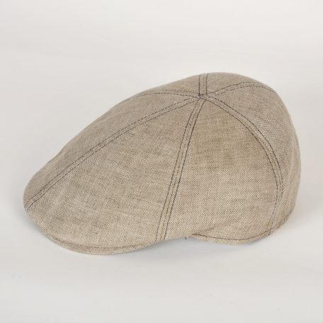 casquette plate 100% coton Gatwick arezzo beige