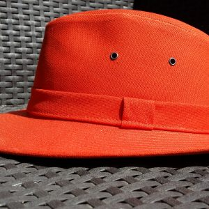 MADE IN FRANCE : CHAPEAU BRISBANE BRIQUE DE CRAMBES