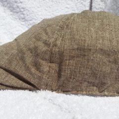 CASQUETTE BEC DE CANARD 100% COTON DE COULEUR MARRON