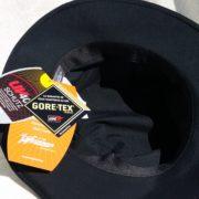 """CHAPEAU TRAVELLER NOIR EN """"GORE-TEX"""" DE CHEZ WEGENER"""